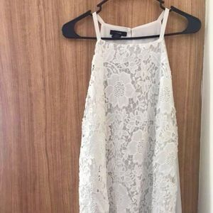 Alfani White Lace Dress